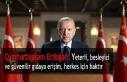 Cumhurbaşkanı Erdoğan: Yeterli, besleyici ve güvenilir...