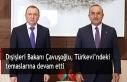 Dışişleri Bakanı Çavuşoğlu, Türkevi'ndeki...