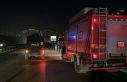 Çekmeköy'de otomobil alev alev yandı