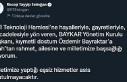 Cumurbaşkanı Erdoğan'dan, Özdemir Bayraktar...