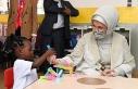 Emine Erdoğan, Togo'da Maarif Vakfı okulunu ziyaret...