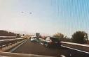 Hadımköy'de iki otomobil sürücüsü yarışırken...