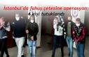 İstanbul'da fuhuş çetesine operasyon: 4 kişi...