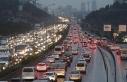 İstanbul'da haftanın ilk iş gününde trafik...