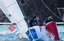 İtalya'da düzenlenen yelken şampiyonasında Türk...