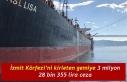 İzmit Körfezi'ni kirleten gemiye 3 milyon 28 bin...