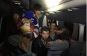 Kocaeli'de 40 kaçak göçmen yakalandı; 2 organizatör...