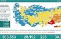Koronavirüs salgınında günlük vaka sayısı 28bin...
