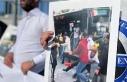 Mecidiyeköy'de 'şoföre şiddete hayır'...