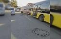 Ümraniye'de feci kaza; İETT otobüsünün ezdiği...