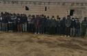 Van'da metruk evlerde 164 kaçak göçmen yakalandı