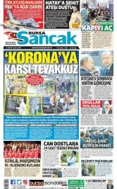 Bursa Sancak - 13.03.2020 Manşeti