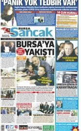 Bursa Sancak - 16.03.2020 Manşeti
