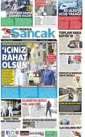 Bursa Sancak -17.03.2020 Manşeti