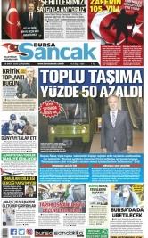Bursa Sancak - 18.03.2020 Manşeti