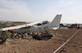 Sivil Eğitim Uçağı Düştü!