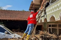 Türk Kızılay Bursa ekibinden Dudaklı Köyü'ne destek