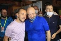 Başkan Sancak ve futbolcular Süper Lig'e odaklandı