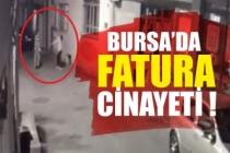 Bursa'da fatura kavgası: 1 ölü