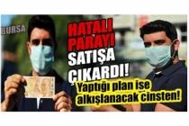 Bursa'da hatalı basım 50 lirayı satışa çıkardı, hayvanlar için harcayacak