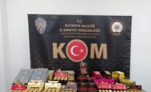 Kütahya'da kaçak cinsel içerikli ürün ele geçirildi