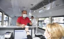 Kentkart mobil hizmet aracı vatandaşlara kolaylık sağlıyor