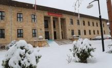 Amasya'da eğitime bir günlük kar engeli