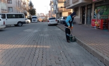 Pursaklar'da 24 saat temizlik
