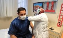 Vali Masatlı, Kovid-19 aşısı oldu