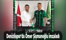Denizlispor'da Ömer Şişmanoğlu imzaladı