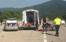 Ankara yolunda kaza:1 ölü