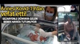 Annesi Korona Virüse Yenik Düştü, Sezaryenle Alınan Bebek Hayata Tutundu