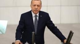 Erdoğan TBMM açılışında fırçayı basıyor.