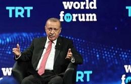 """Erdoğan'dan """"TRT World Forum 2019""""da..."""
