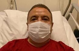 Başkan Böcek'e yoğun enfeksiyon tedavisi uygulanıyor