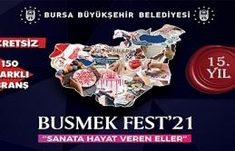 BUSMEK FEST'21 Festivali Hazırlıkları Başlıyor