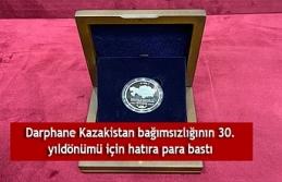 Darphane Kazakistan bağımsızlığının 30. yıldönümü...
