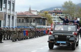 Cumhuriyet'in 94. yılına  coşkulu kutlama