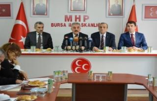 MHP Genel Sekreteri Büyükataman, 'Türk milleti...