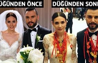 Alişan ve Buse Varol'un düğününe takılan...