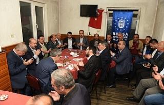 Başkan Aktaş Bursalılarla Bereket Sofrası'da...