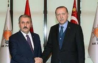 Cumhurbaşkanı Erdoğan 'Cumhur İttifakı'na...
