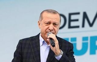 Cumhurbaşknı Erdoğan Kayseri'de açıkladı:...