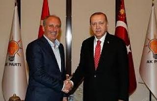 Erdoğan ve İnce buluştu... Çaylar içildi... Peki...