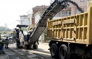 Osmangazi'de 43 bin tonluk yeni makyaj