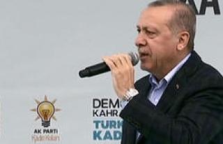SON DAKİKA... Cumhurbaşkanı Erdoğan seçim manifestosunu...
