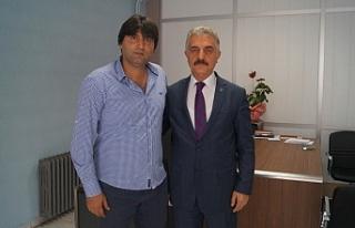 Bursaspor'un yıldız ismi Okan Yılmaz'dan...