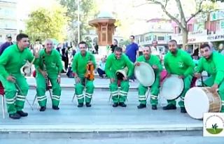 """""""Osmangazi'de temizlik sanattır"""""""