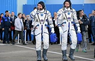 Soyuz'un fırlatılışında kaza!
