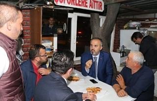 Başkan Aktaş, taksicilere ulaşım projelerini anlattı